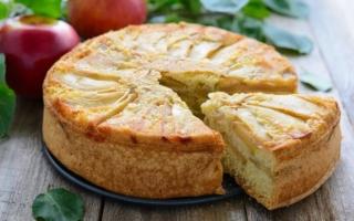 Ароматная шарлотка с яблоками: готовим в духовке по пошаговому рецепту