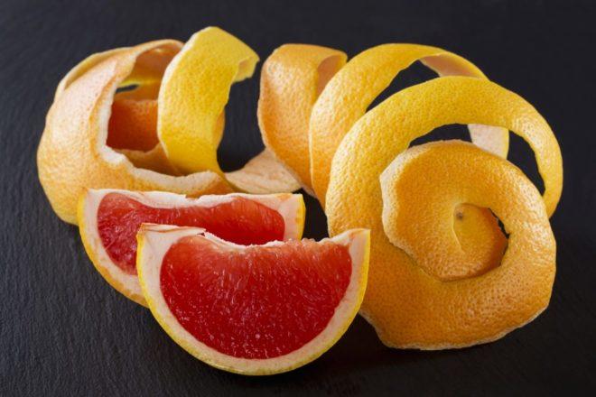 Очищенный грейпфрут