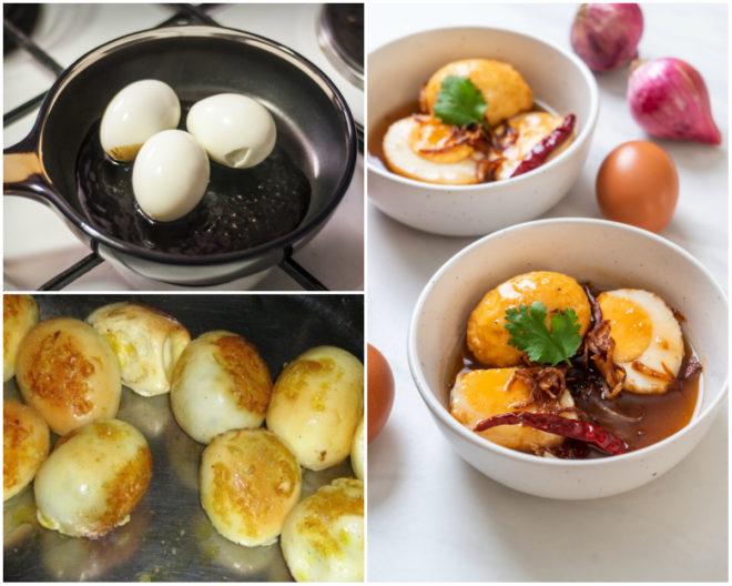 Яйца с подливой