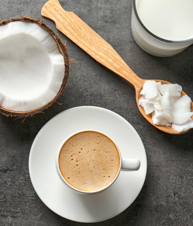 Бронекофе с кокосовым маслом