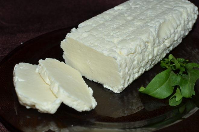 адыгейский сыр серверовка